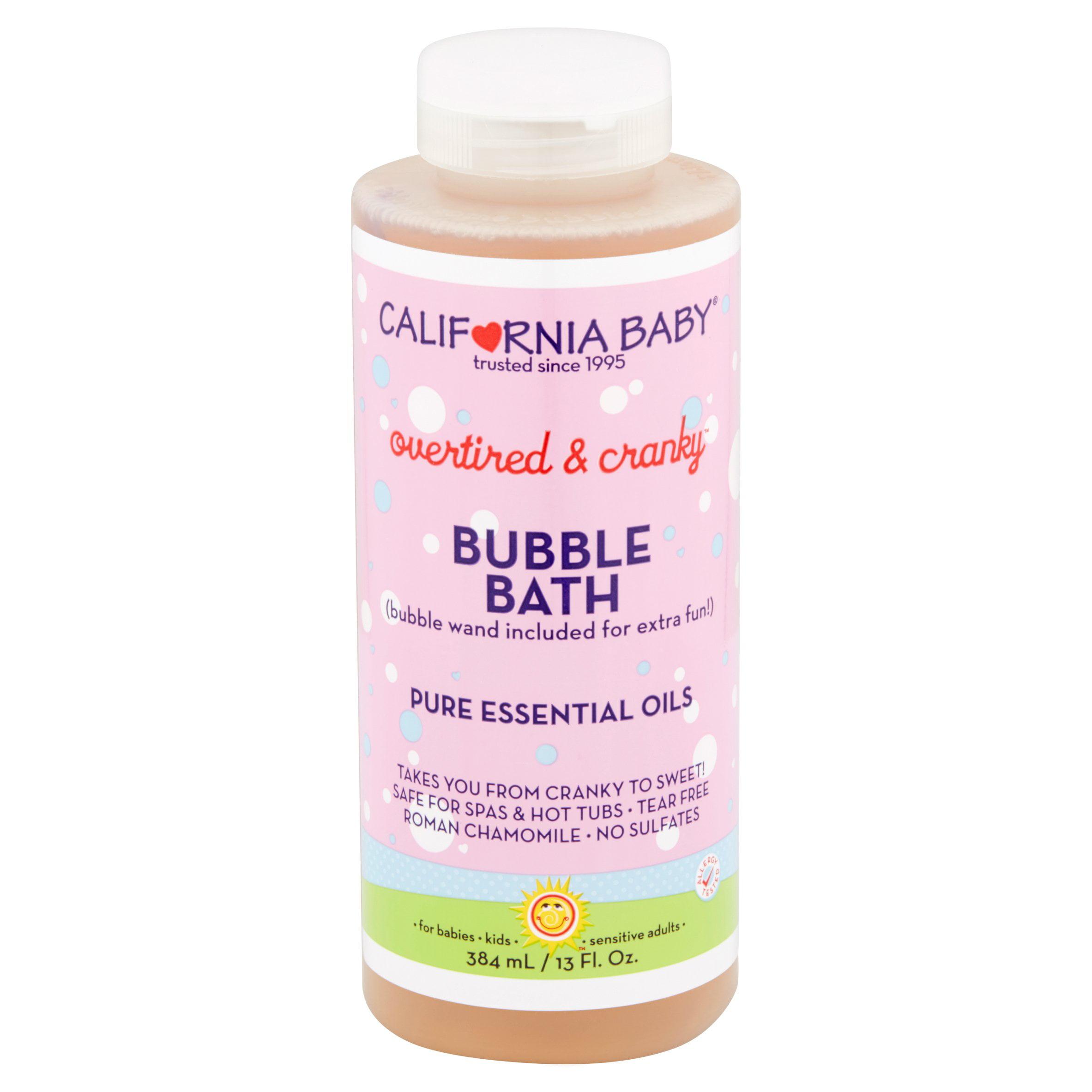California Baby Overtired & Cranky Bubble Bath, 13 fl oz by California Baby