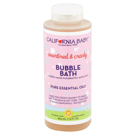 California Baby Overtired & Cranky Bubble Bath, 13 fl oz