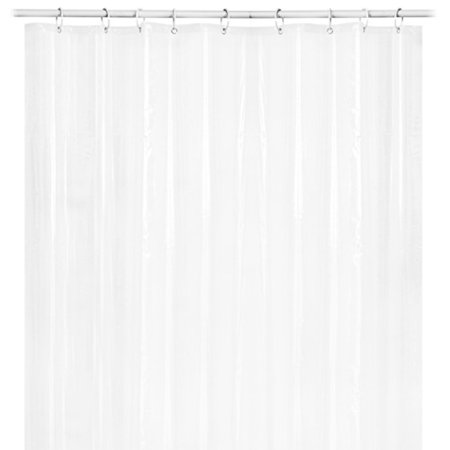bath shower curtain liner clear non toxic mold resistant waterproof bathroom. Black Bedroom Furniture Sets. Home Design Ideas