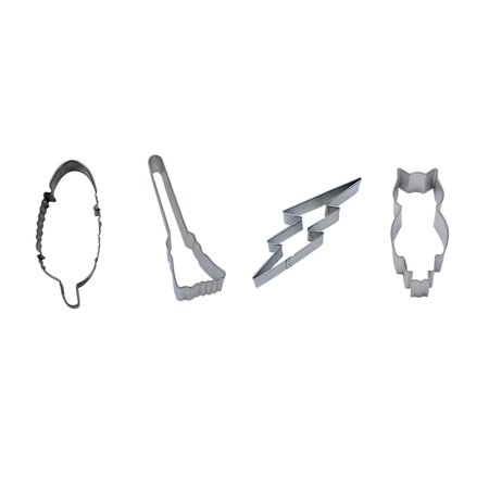 Wizard Cookie Cutter Set - Feather 4
