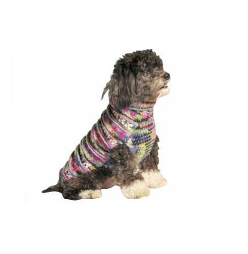 Chilly Dog Purple Woodstock Dog Sweater 3xx Large Walmart Com