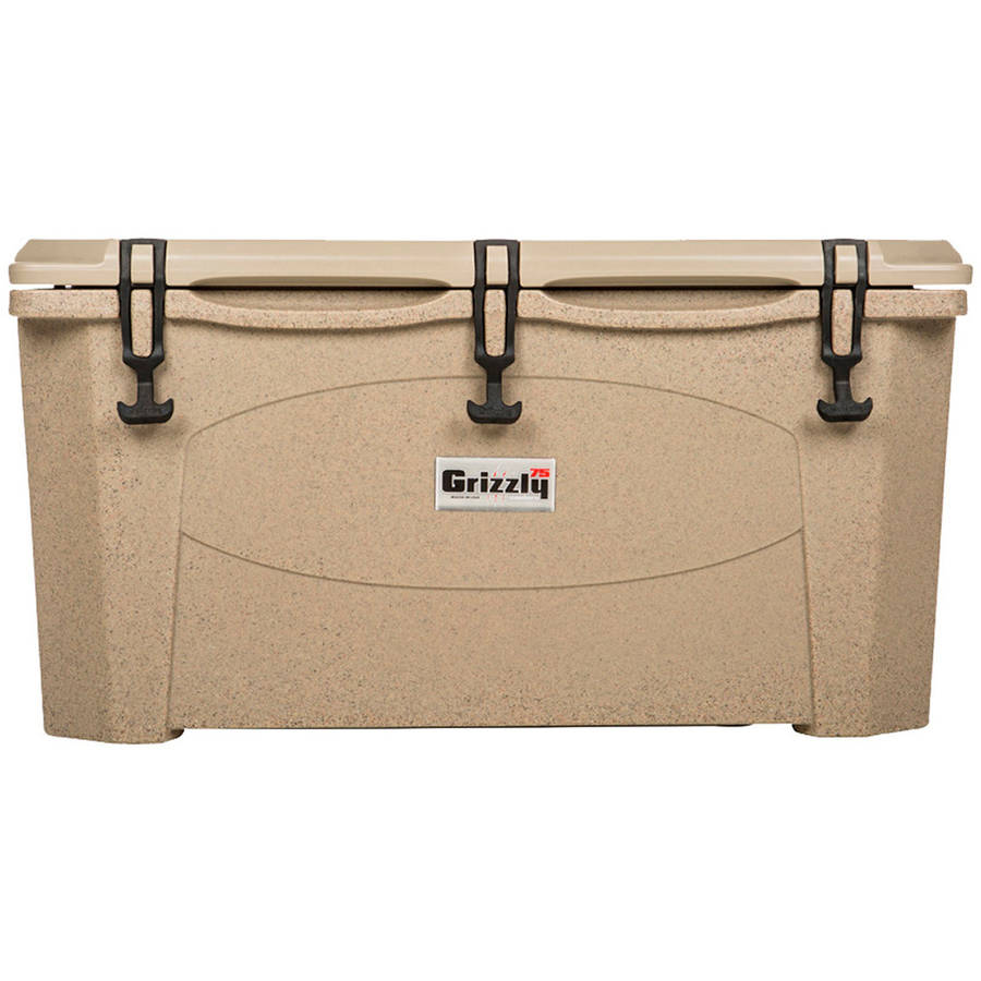Grizzly RotoMolded Cooler, Sandstone