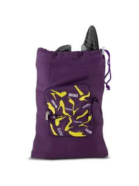 Pocket Packs Shoe Bag - Purple