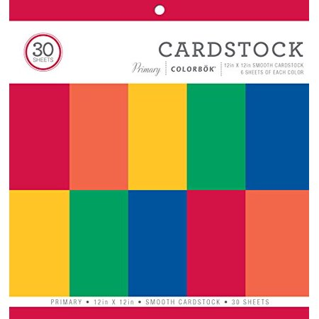 Colorbok Smooth Cardstock Paper Pad Primary 12 X 12 Walmart Canada