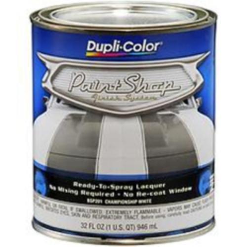 Krylon BSP201 Duplicolor Paint Shop - Finish System - Championship White