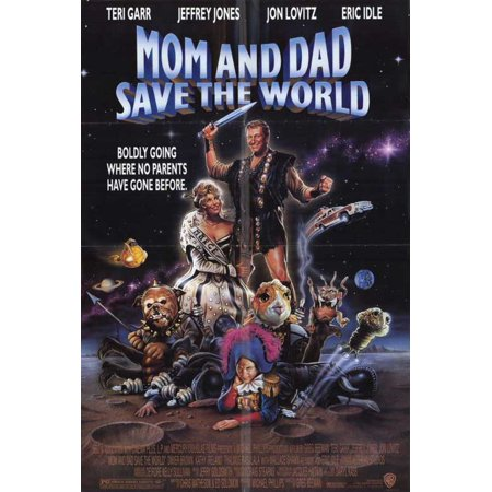 Mom and Dad Save the World - movie POSTER (Style A) (11