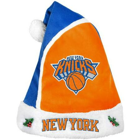 Forever Collectibles NBA 2015 Santa Hat, New York Knicks