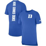 Duke Blue Devils Nike 2018 Elite Basketball On-Court Shooter Shirt - Royal