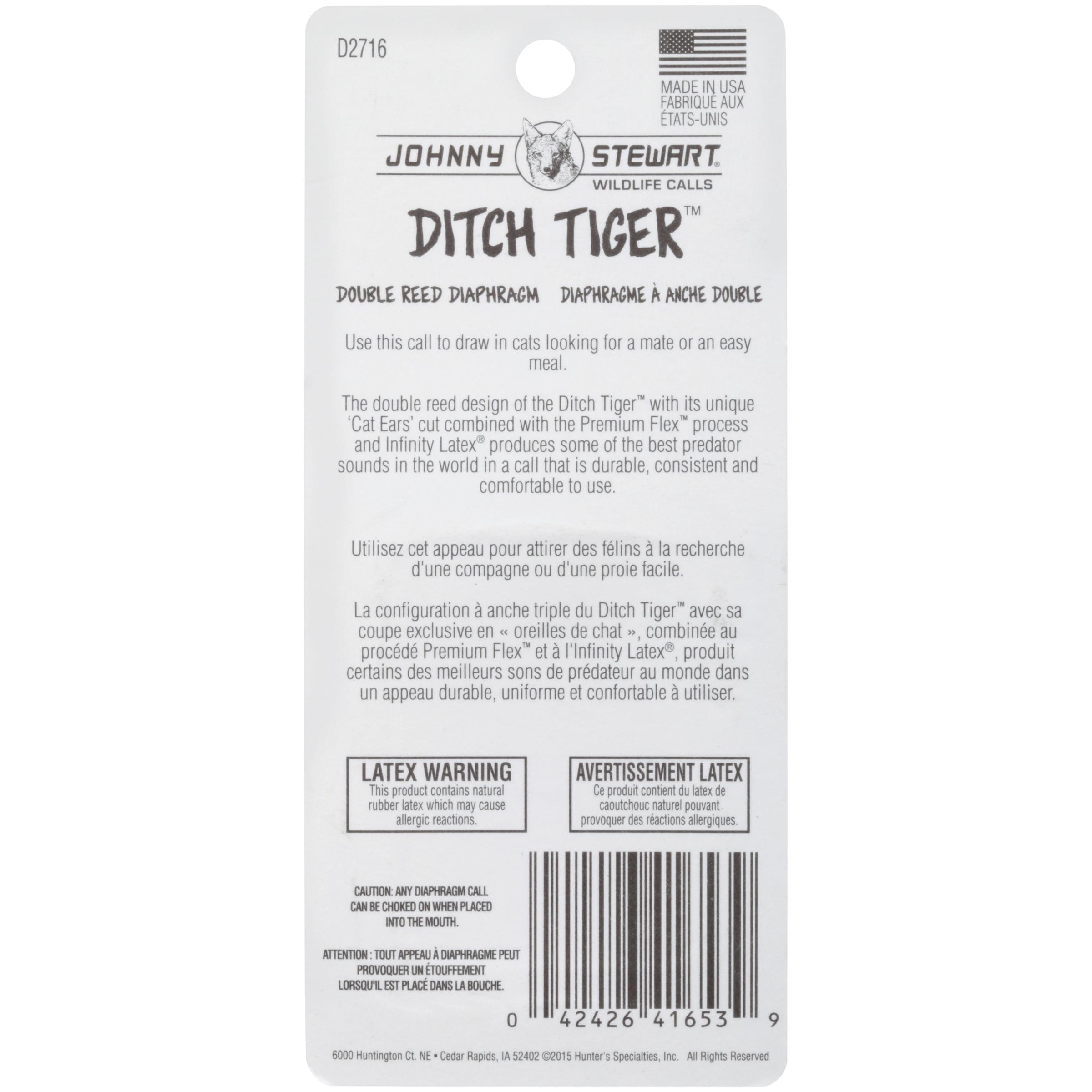 Johnny Stewart® Ditch Tiger™ Premium Flex™ Double Reed Diaphragm