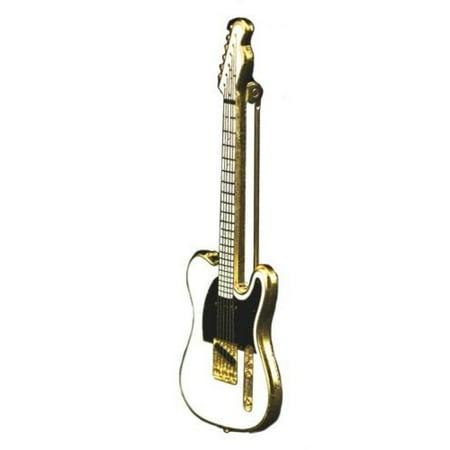 Telecaster Electric Guitar Pin - White ()
