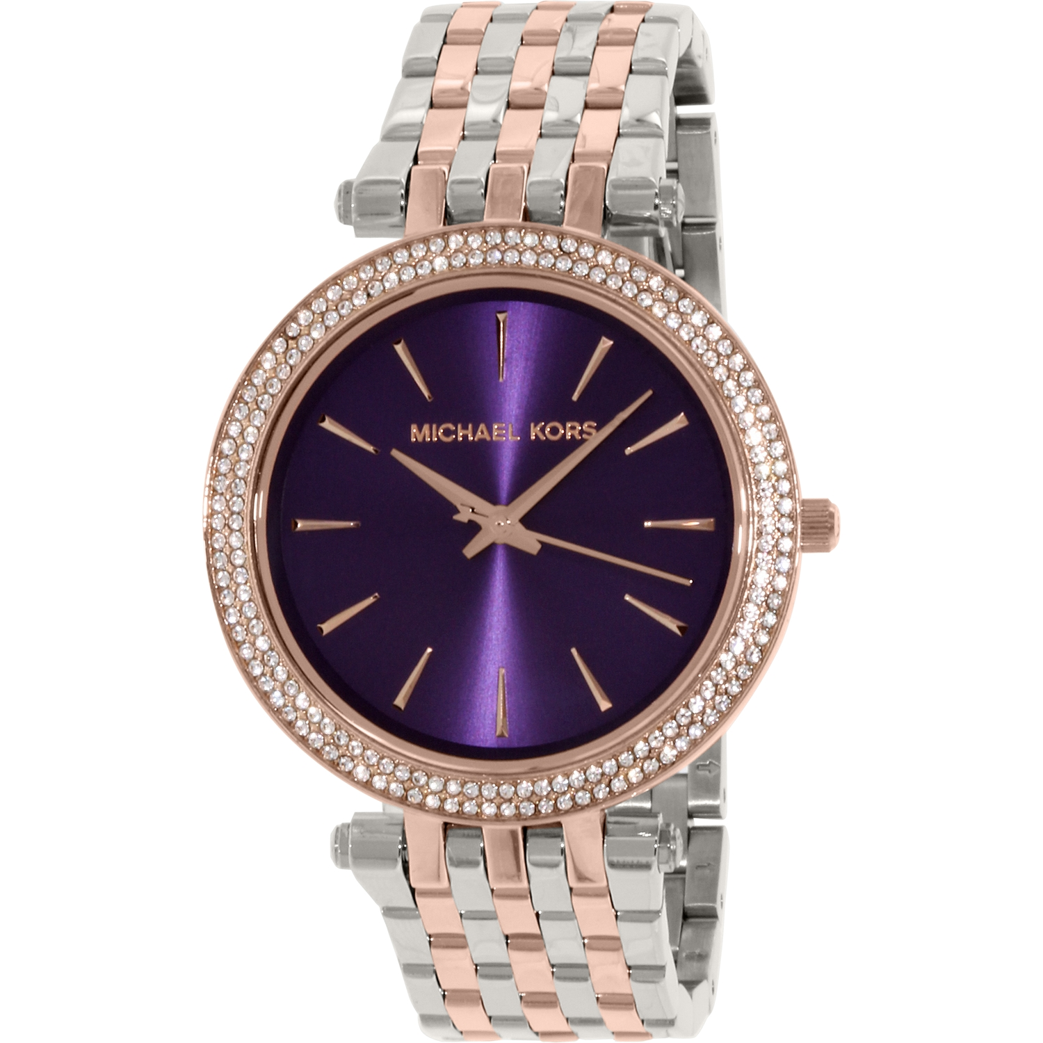 Michael Kors Women's Darci MK3353 Rose Gold Stainless-Steel Quartz Fashion Watch