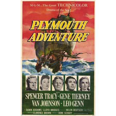 Halloween 1952 (Plymouth Adventure (1952) 11x17 Movie)