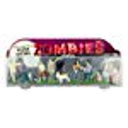 Accoutrements Glow In The Dark Flesh Eating Zombies Play Set - Zombie Doll Makeup