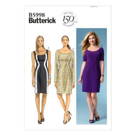 Butterick Patterns B40 Misses'Women's Dress Sewing Template Size Unique Walmart Dress Patterns