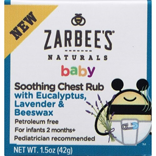 Zarbee's® Naturals Baby Chest Rub, 1.5 oz. Box