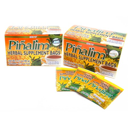 2 PACK Te Pinalim Detox Tea Pineapple Cleanse Extra Strength 60 Day Supply - 2 Month Supply
