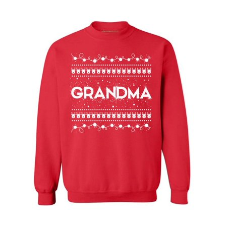 Awkward Styles Grandma Christmas Sweatshirt Christmas Grandma Sweater Family Holiday Sweatshirt Best Grandma Sweater Granny Christmas Sweater Christmas Gift for Best Grandma Funny Christmas