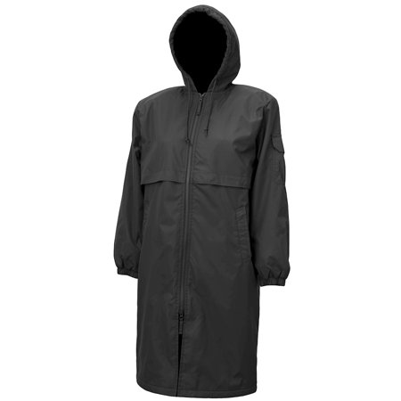Adoretex Unisex Solid Swim Parka Pk006 Black Adult Large