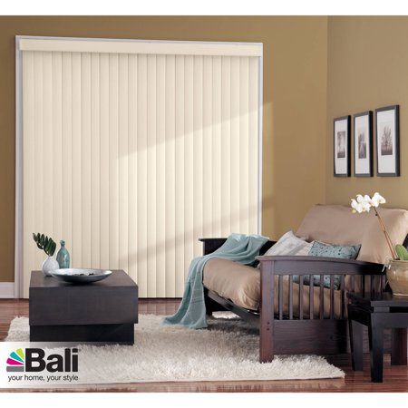 Fabric Vertical Blinds - Bali Essentials Chams, Dune and Maui Vertical Blind, Available in Multiple Colors and Sizes