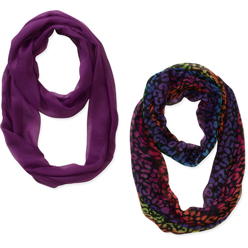 Multi Animal Print 2pack Scarves