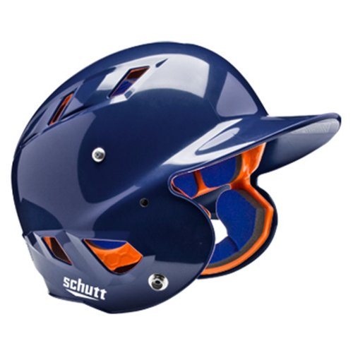 Sports AiR 5.6 Softball Batter's Helmet, High Gloss Navy, Large, Premium Fitted Helmet with durable shell By Schutt from USA