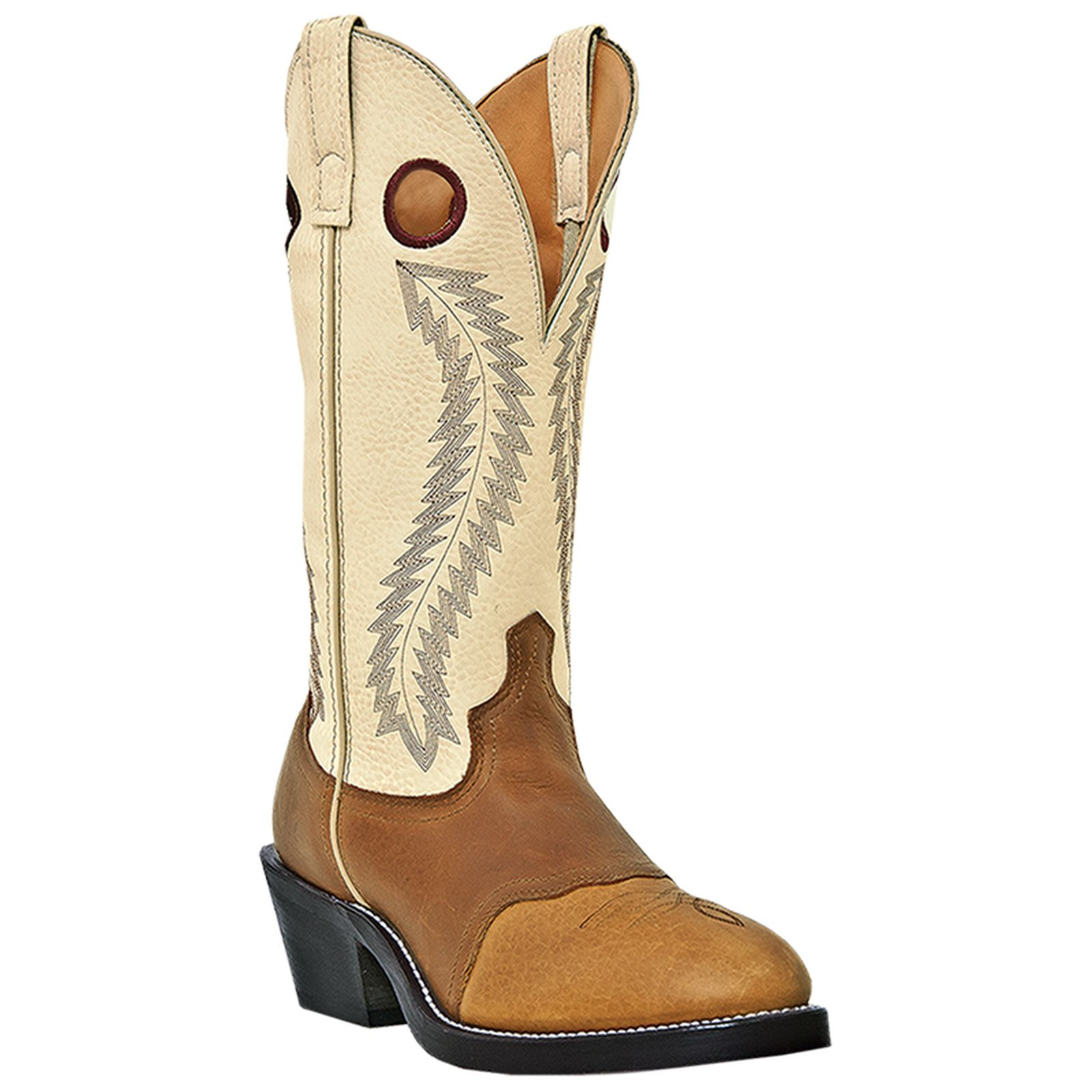 Laredo 62023 Men's Tan and Brown Knoxville Western Boots by Laredo