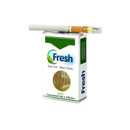 Product Source International Fresh Cigarette Filters - 30 Filters Reduce Tar Nicotine &