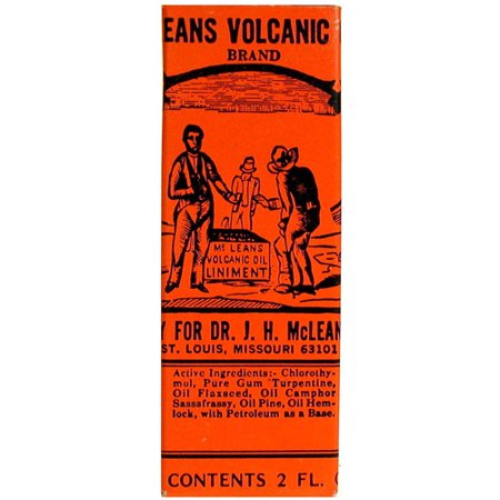 JH McLean Medicine Dr JH McLean  Volcanic Oil, 2 (Best Over The Counter Medicine For Back Muscle Pain)