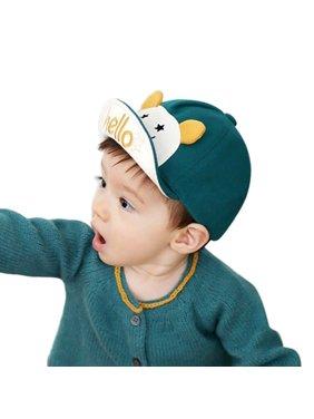 Fymall Baby Kids Cute Cartoon Summer Hat Baseball Cap 6-24M