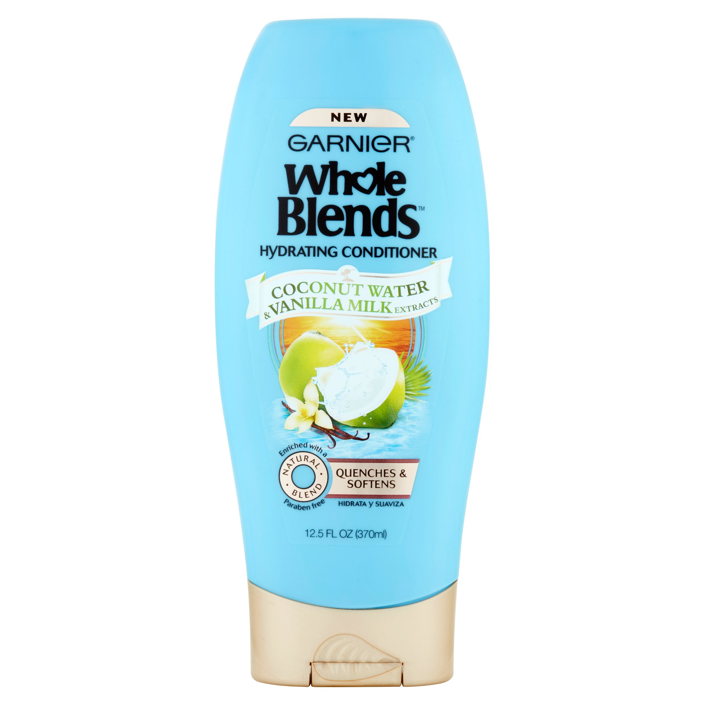 Garnier Whole Blends Conditioner with Coconut Water & Vanilla Milk Extracts 12.5 FL OZ