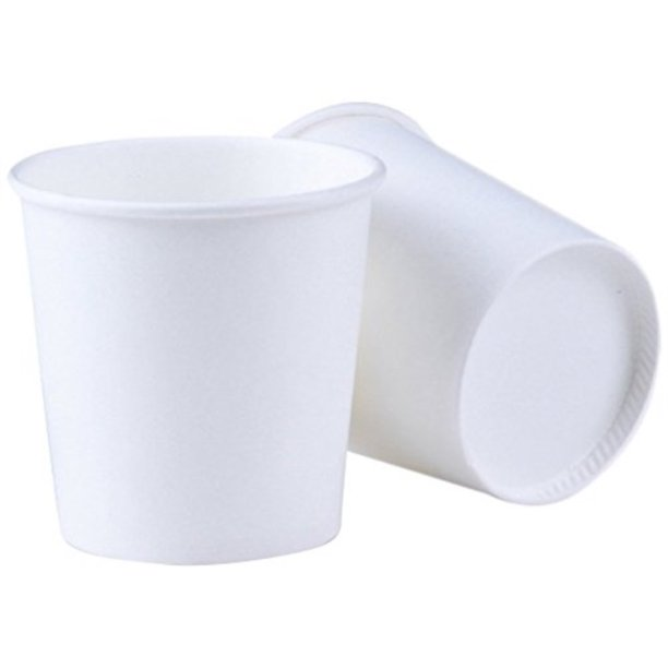 Bathroom Cup 500 Pack 4 Oz Espresso Cups Luckypack Sampling Paper Coffee Cups For Hot And Cold Beverages Plain White Disposable Walmart Com Walmart Com