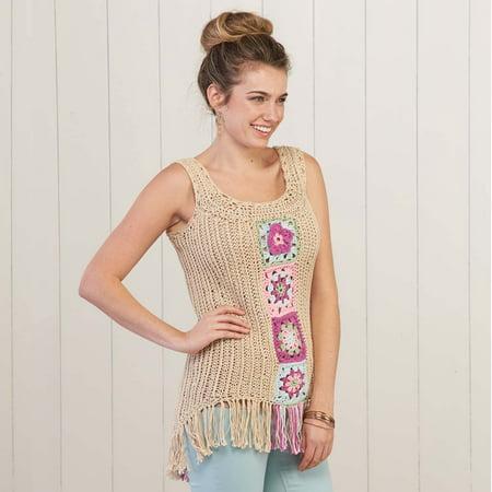 Granny Square Tunic Crochet Pattern](Granny Suit)