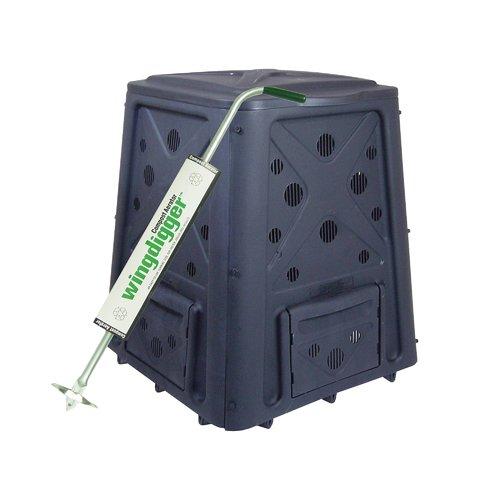 Green Culture Compost Bin PLUS Wingdigger Combo Set
