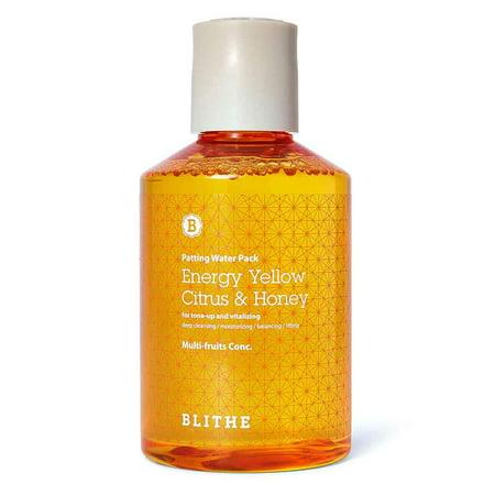 Blithe Patting Splash Mask - Yellow Citrus & (Best Honey For Face)