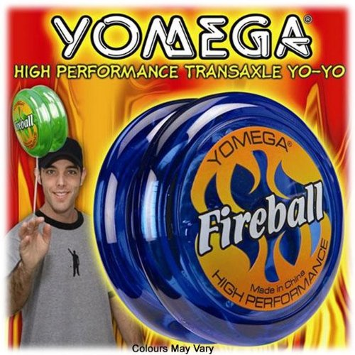 YOMEGA Fireball High Performance YO-YO Colors may vary