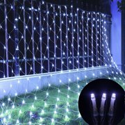 LXMADE Waterproof Icicle LED String Lights 10M 100LED 110V Connectable with Tail Plug Home Outdoor Christmas Lights Decoration Festival Party Fairy Garland LED Strip