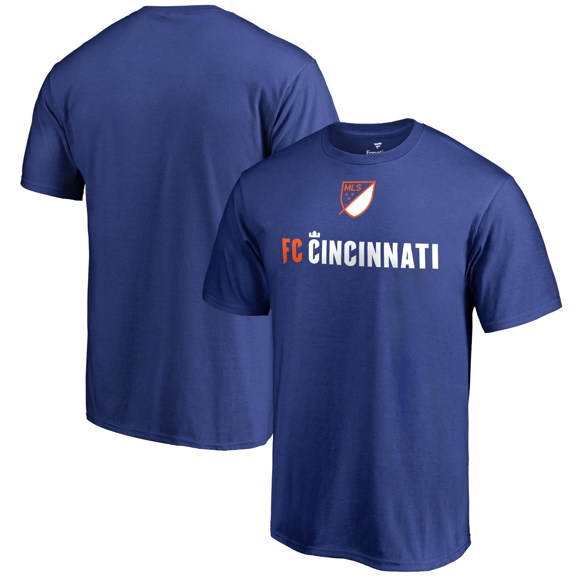 FC Cincinnati Fanatics Branded Team Shielded T-Shirt - Royal