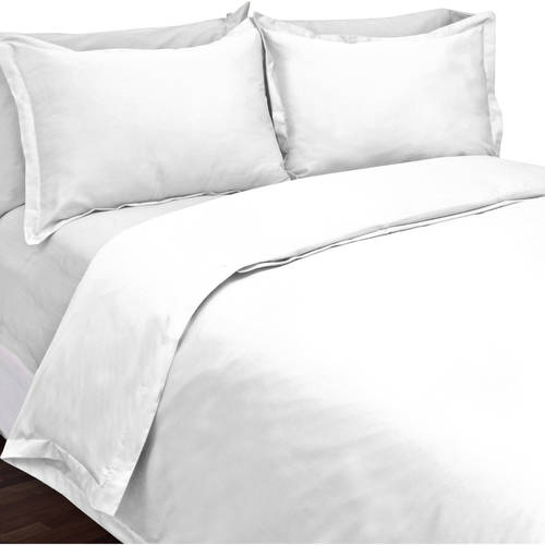 Veratex Supreme Sateen 300-Thread-Count Egyptian Cotton Duvet Set