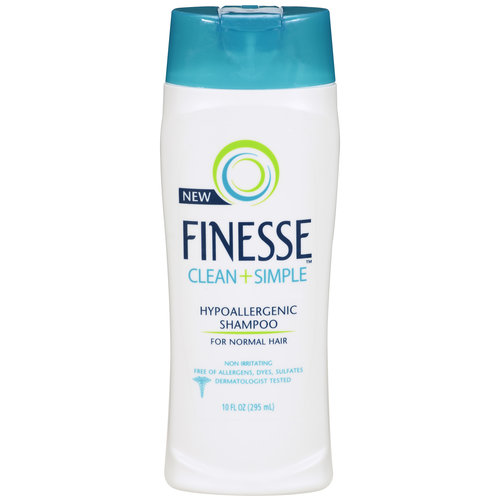 hypoallergenic hair styling products finesse clean plus simple hypoallergenic hair shampoo for 9274