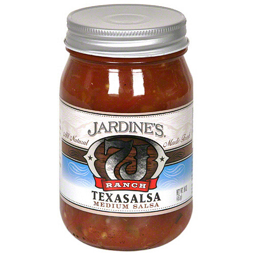 Jardine's 7J Ranch Medium Texasalsa, 16FO (Pack of 6)