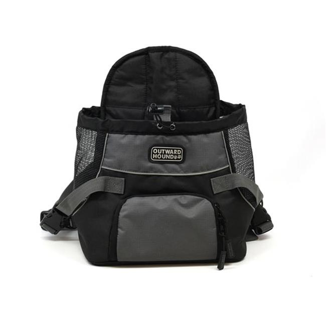 Kyjen OH2513 Outward Hound Front Carrier Small Black 13 in. x 10 in. x 8 in.