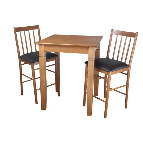 Darby Home Co East Broadway 3 Piece Pub Table Set