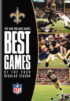NFL: New Orleans Saints Best Games of 2009 Regular Season (DVD) by WARNER HOME VIDEO