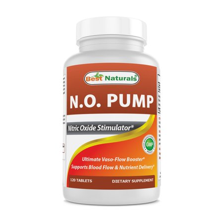 Orange Nitric Oxide - Best Naturals N.O. Pump, Nitric Oxide Stimulator, 120 Ct