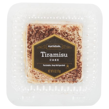 (5 Pack) Marketside Tiramisu, 6 oz