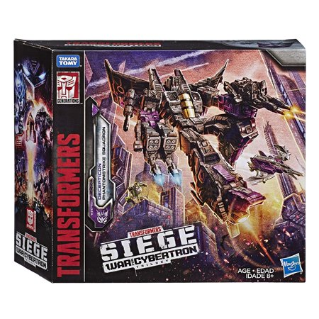 Transformers Toys Siege War For Cybertron Voyager Wfc-S27 Decepticon Phantomstrike Squadron 4 Pack - Final Strike Figure Series: Part (Transformers War For Cybertron Cheats Ds Decepticons Codes)