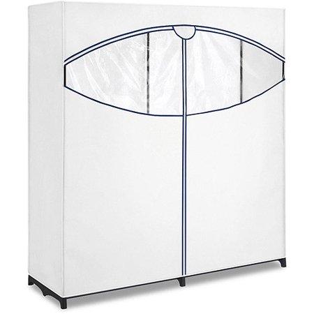 Whitmor 60 Quot Extra Wide Clothes Closet White Walmart Com