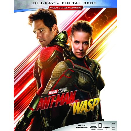 Ant-Man and the Wasp (Blu-ray + Digital Code) (Ant Man Vol 1 Second Chance Man)