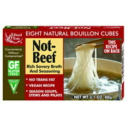 Edward & Sons Not-Beef Bouillon Cubes, 3.1 Ounce Boxes