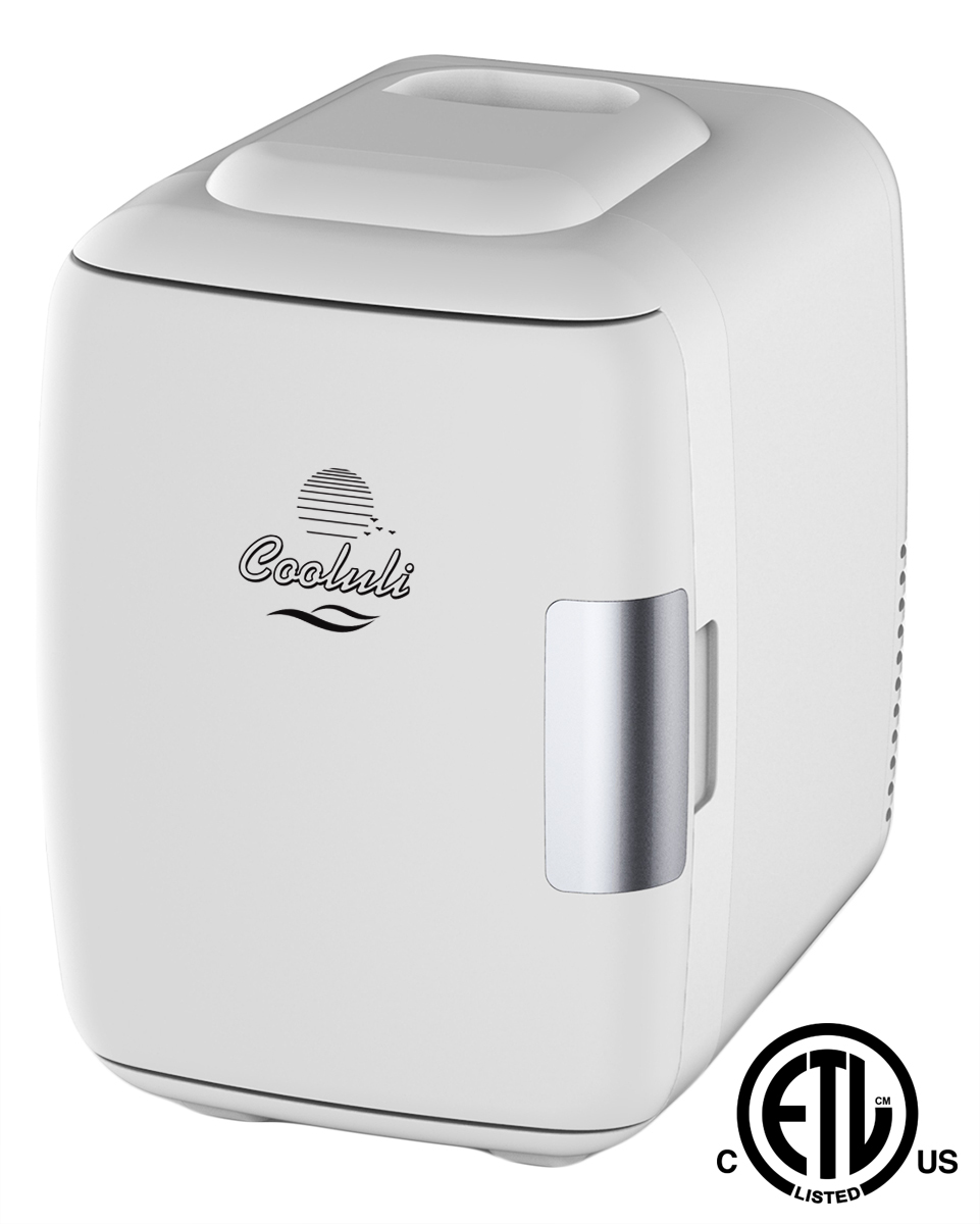 Durable Chill Mini Fridge w// Thermoelectric Cooler for Bedroom